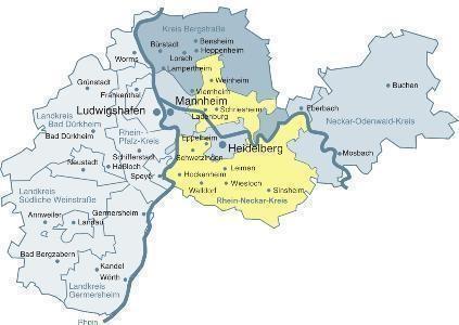 Karte Baden Württemberg Rheinland Pfalz.Metropolregion